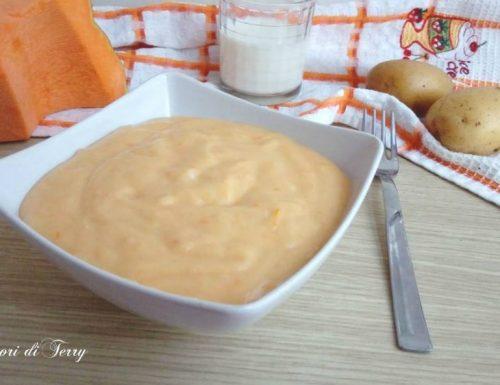 Purè di patate zucca e mozzarella