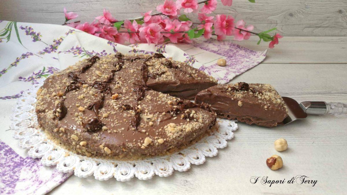 Bagno Nella Nutella.Cheesecake Alla Nutella Senza Panna E Senza Cottura