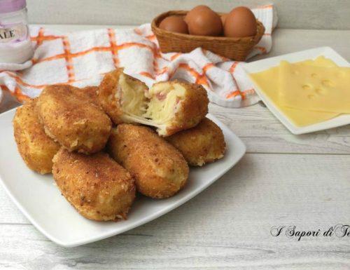 Crocchette di patate speck e formaggio