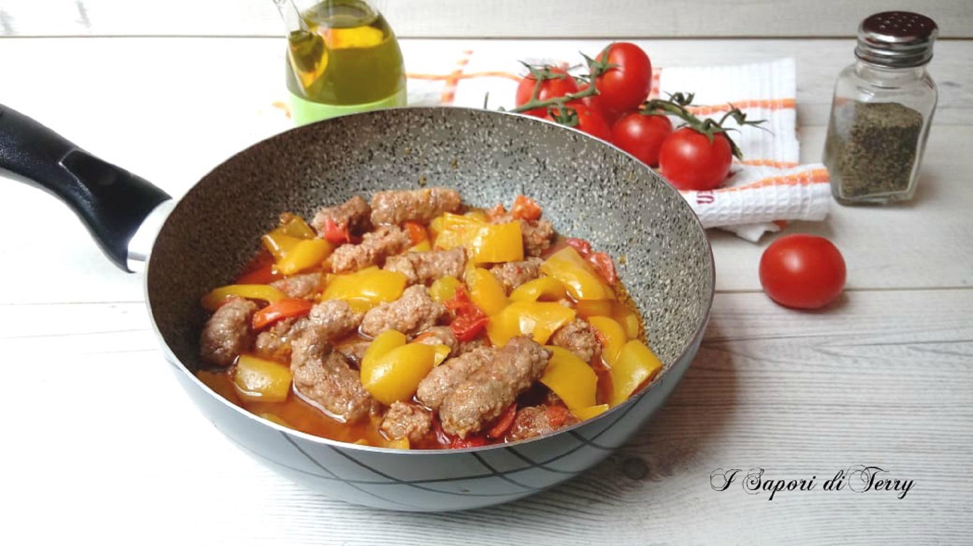 Salsiccia con peperoni