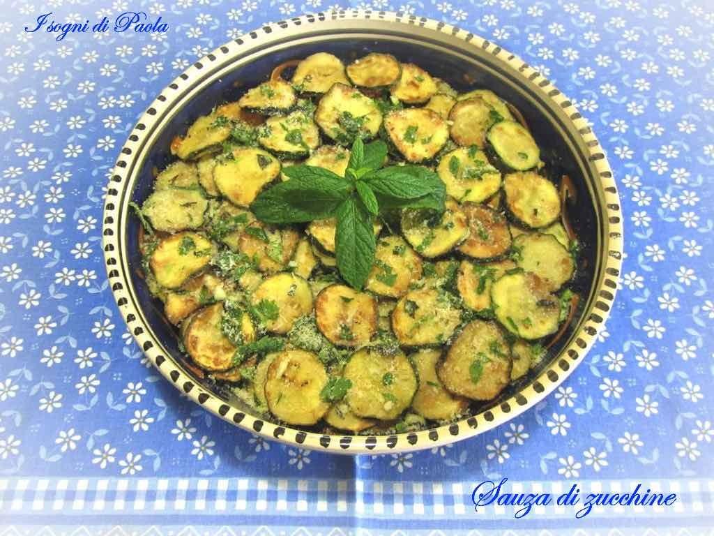 Sauza di zucchine