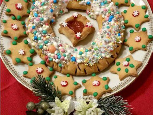 Buccellato trapanese e biscotti con i fichi