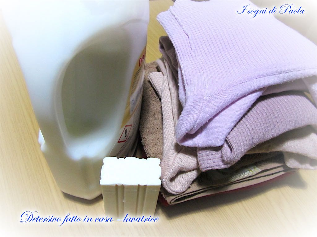 Palline Di Ceramica Per Lavatrice.Detersivo Fatto In Casa Lavatrice I Sogni Di Paola
