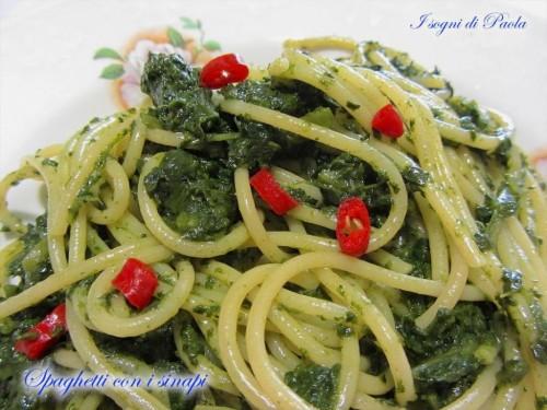 Spaghetti con i sinapi