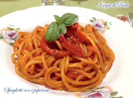 Spaghetti con i peperoni