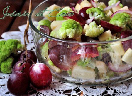 Autumn Salad – Mela, Uva e Cavolo Verde