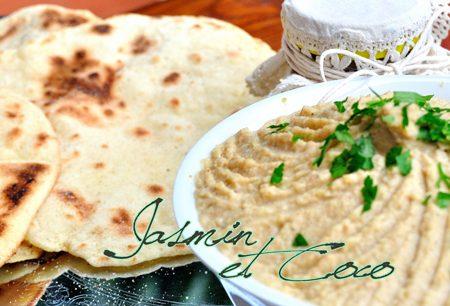 Hummus bi Tahina con Chapati