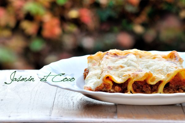Cannelloni con Ragu' al Single Malt e Besciamella
