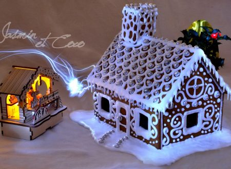 Gingerbread House con Ghiaccia Reale