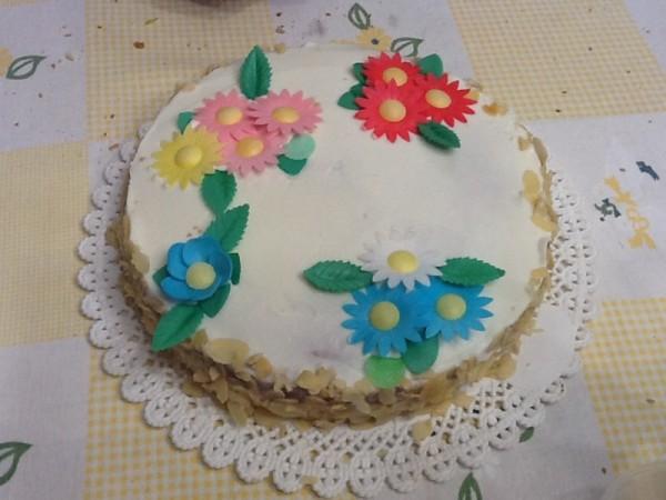 torta primavera di ricotta