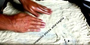 preparazzione pizza