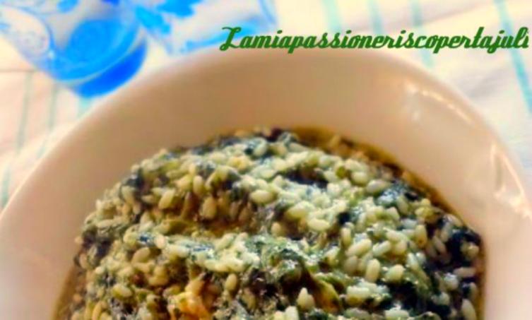 riso e spinaci