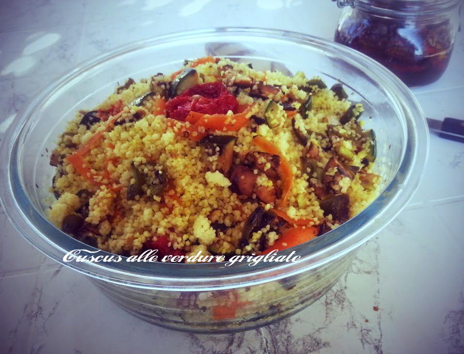 Cuscus alle verdure grigliate