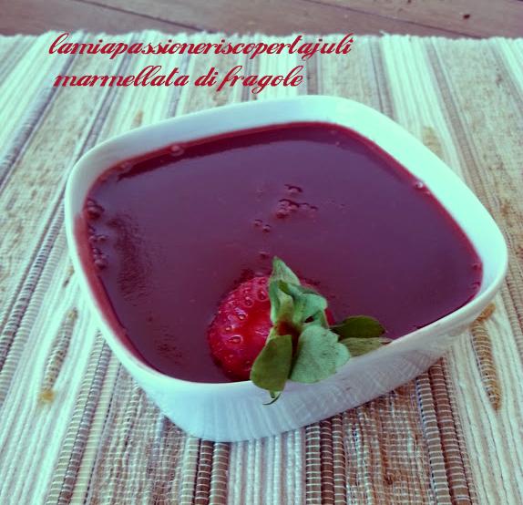 Marmellata di fragole ricetta