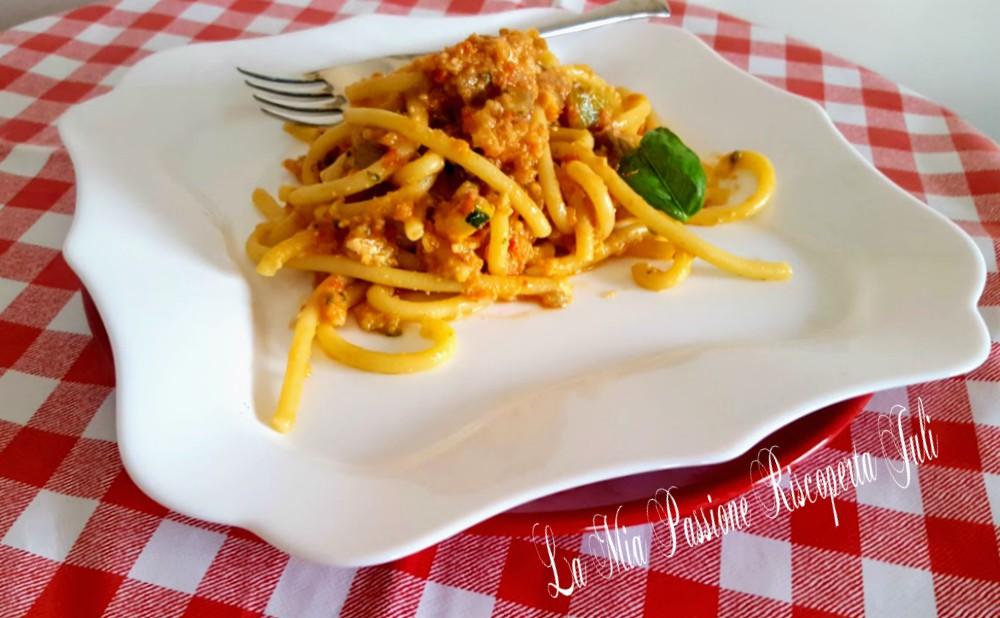 Ricetta pasta melanzane e pomodorini