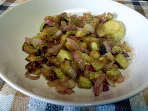 zucchine verde all'aceto