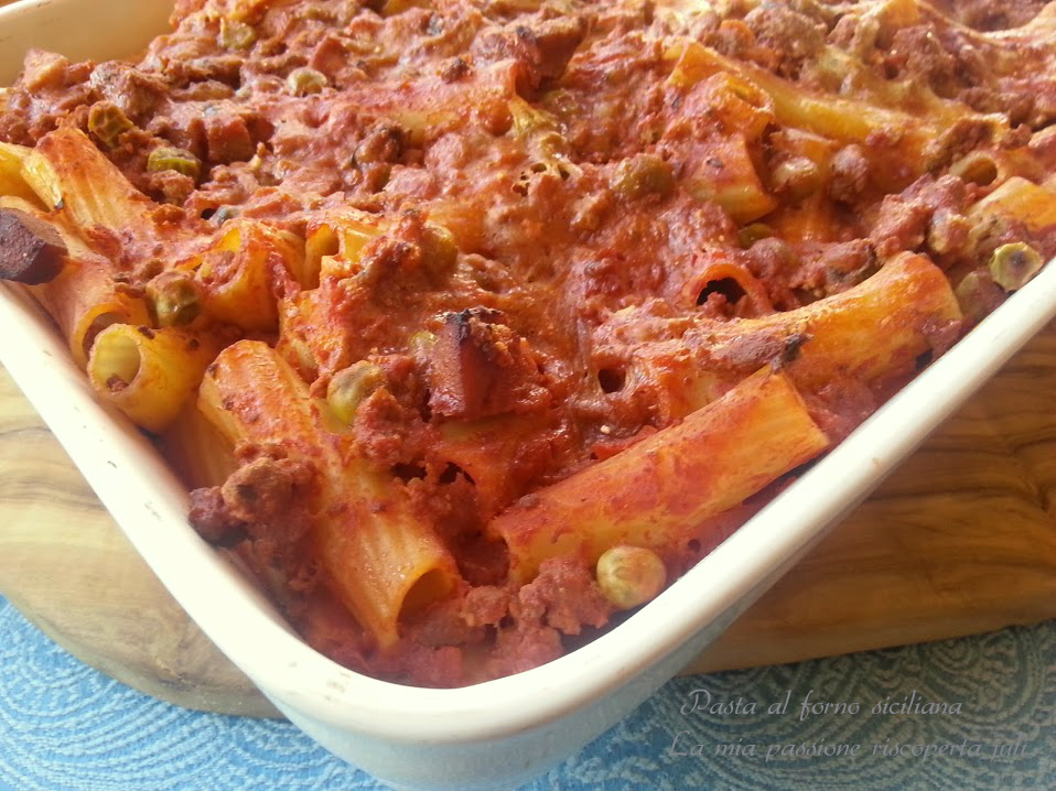 pasta al forno siciliana