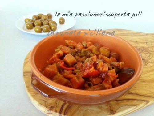 Caponata Siciliana (rustica)