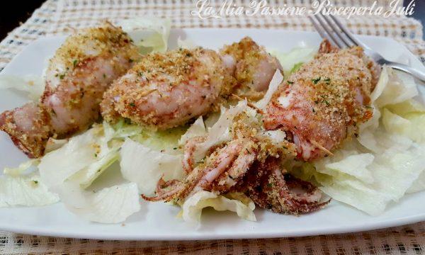 Calamari ripieni al forno (Siciliani)
