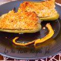 Peperoni ripieni con mollica al forno