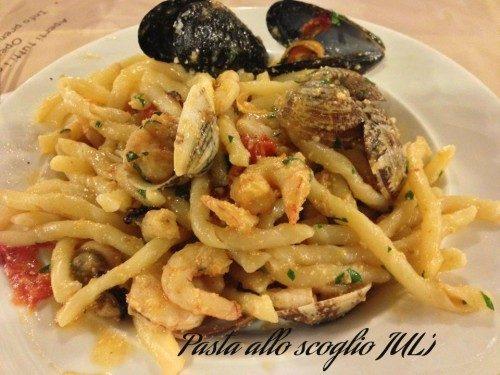 Spaghetti allo scoglio sapore di mare