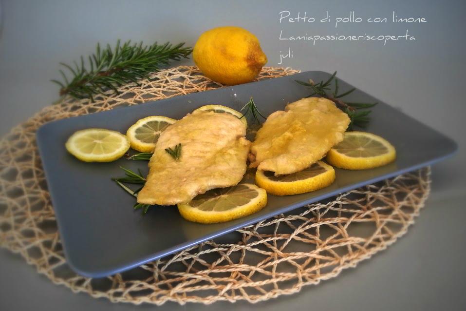 Petto di pollo con limone
