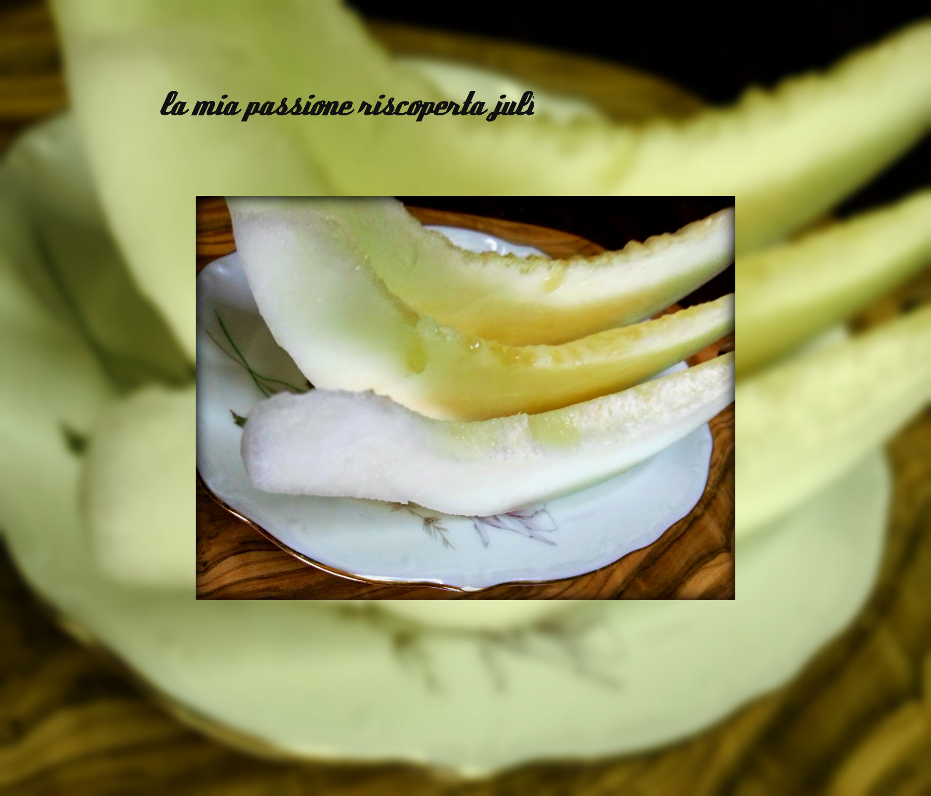 marmellata anguria bianca