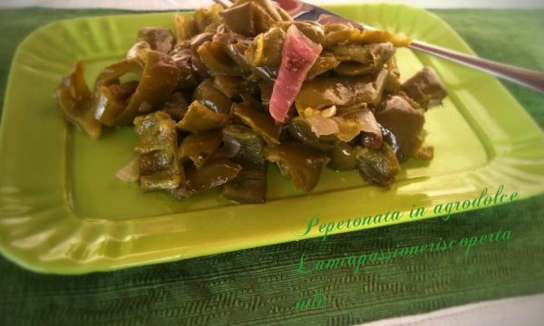 PEPERONATA IN AGRODOLCE