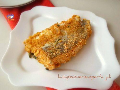 Pesce merluzzo al forno