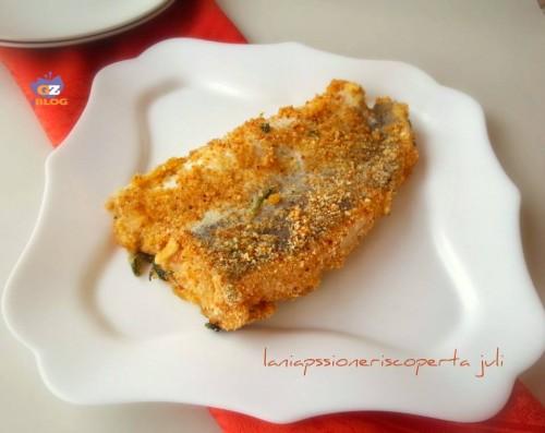 pesce merluzzo a forno