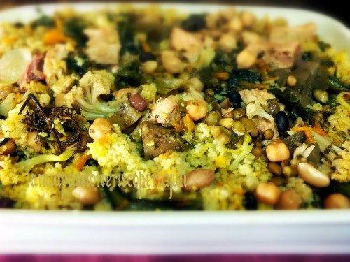 Cuscus alle verdure e carne