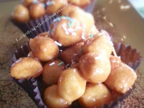 Struffoli pignolata,ricetta dolce