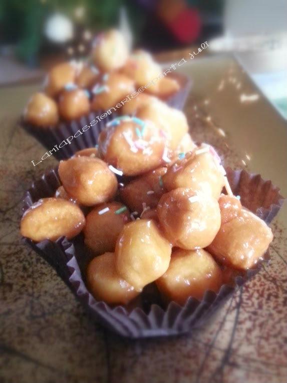 Struffoli pignolata, ricetta dolce