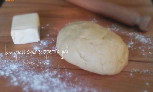 Ricetta pasta brise con impastatore