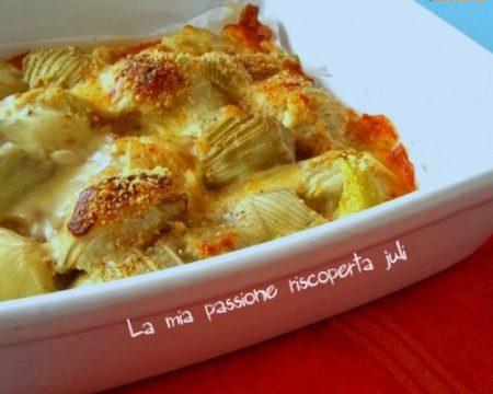 Finocchi gratinati al forno: con formaggi