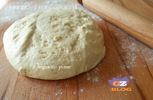 Impasto pane con lievito madre