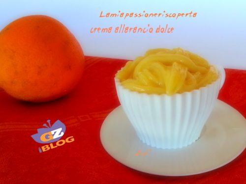 Crema allarancia senza uova