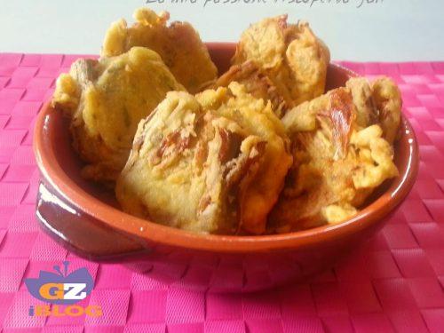 Carciofi in pastella fritti