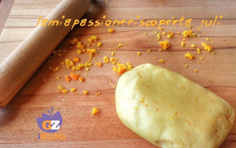 Pasta frolla con buccia d'arancia
