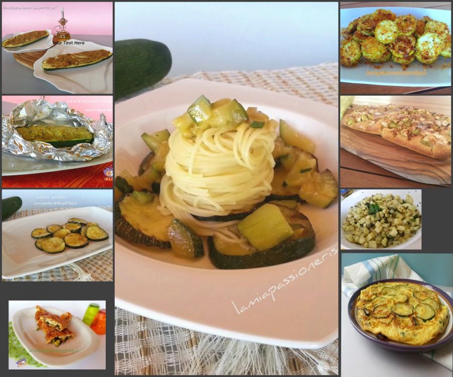 tutto zucchine ricette
