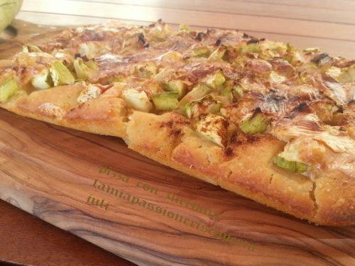 Pizza con zucchina Siciliana