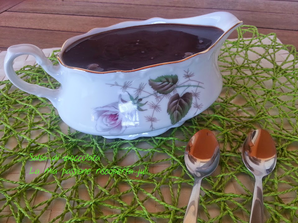 Salsa di cioccolata
