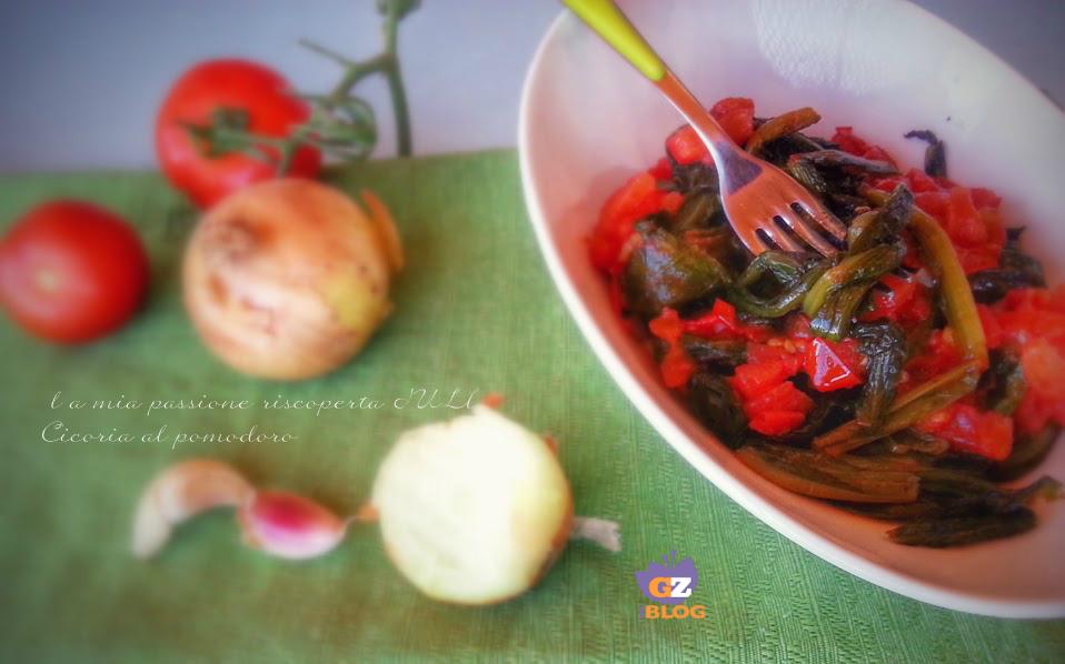 cicoria al pomodoro