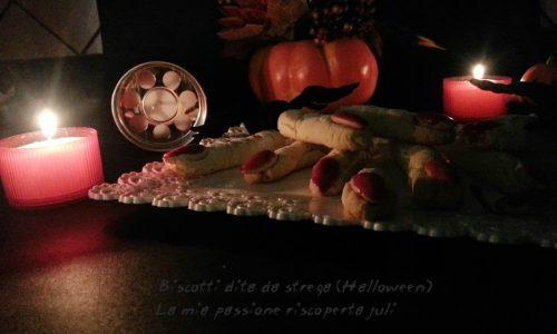 Biscotti halloween dita da strega