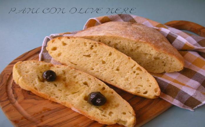 Pane bianco menu