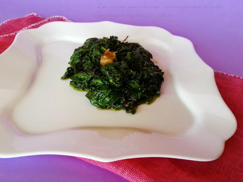 Spinaci-aglio-e-olio