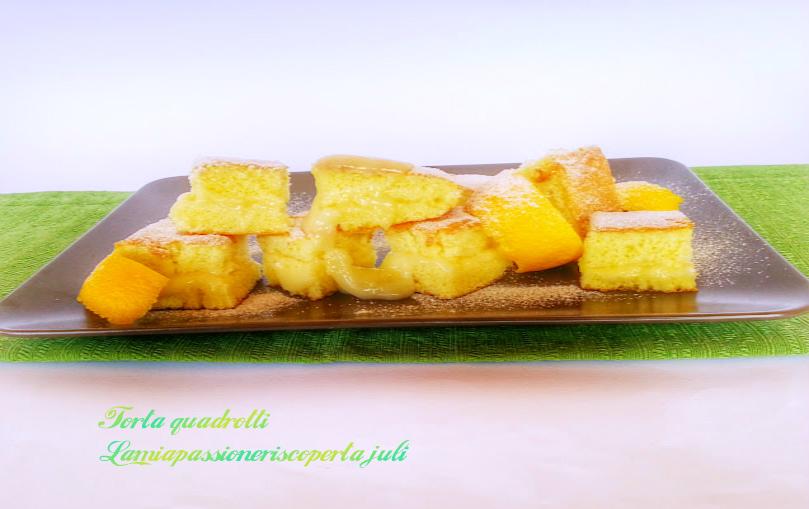 torta quadrotti limone