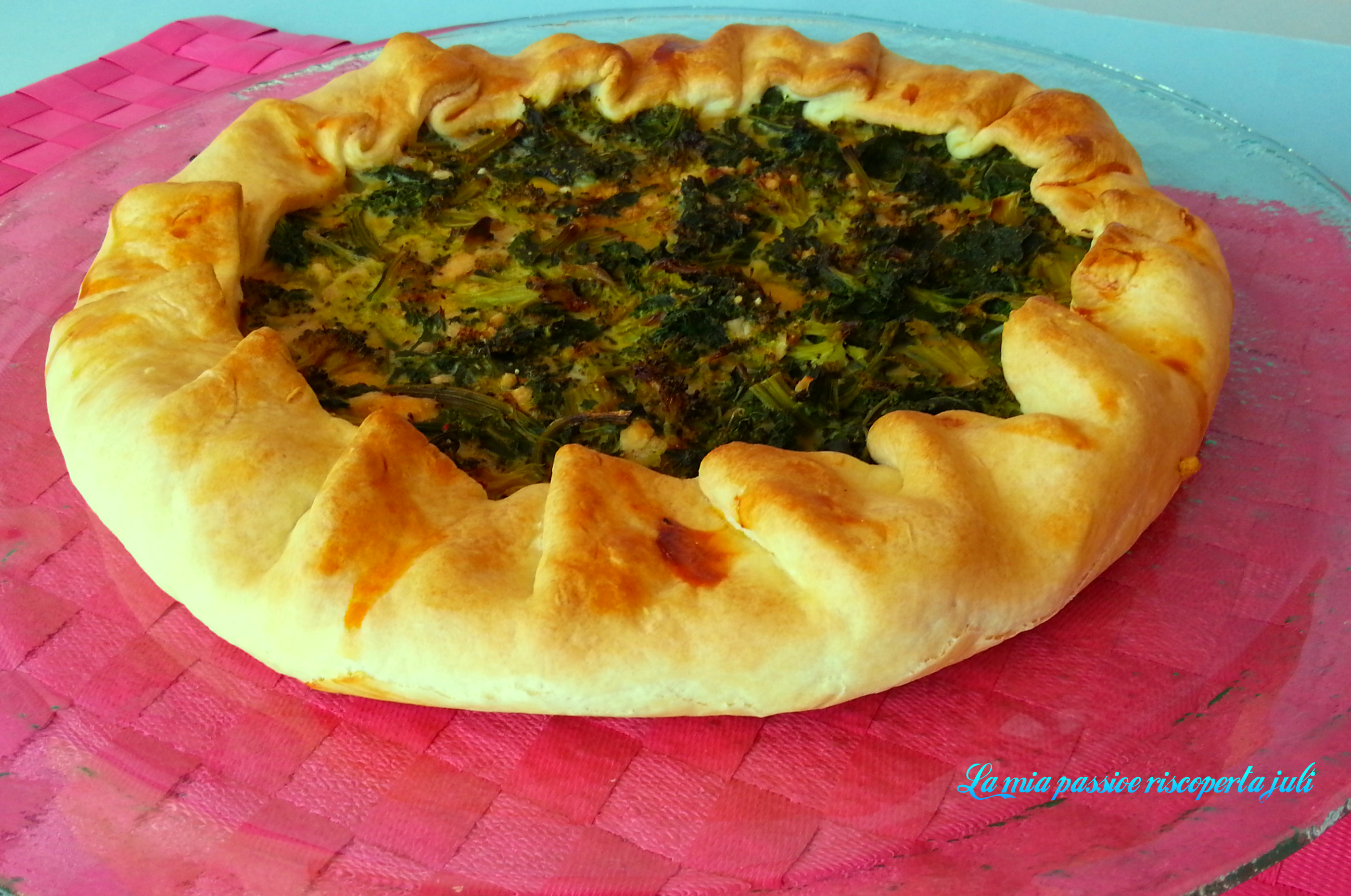 BRISE CON QUALEDDA E BROCCOLETTO