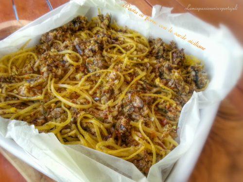 Pasta al forno con le sarde siciliane