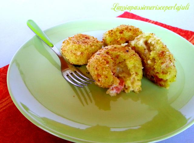 bocconi ripieni di patate